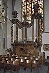 interieur zuidertransept, overzicht orgel, orgelnummer 889 - lith - 20334161 - rce
