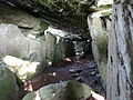 Interior Labbacallee Wedge Tomb, North Cork.JPG