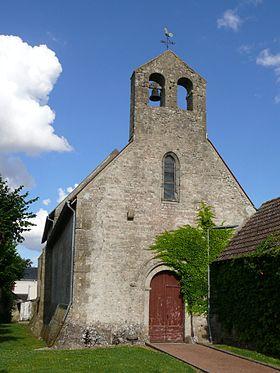 Glise saint pierre d 39 intville la gu tard wikimonde for Association maison eymard