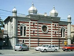 Iosefin Synagogue in Timisoara Romania.jpg
