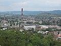 Iparterület és Bányásztemplom a Kálvária-hegy felől nézve, 2017 Dorog.jpg