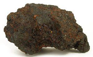 Disko Island - Native iron from Disko Island (size: 4.9 x 2.9 x 1.5 cm)