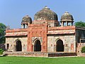 Isa Khan's mosque, built ca 1547 AD, near Humayun's tomb.jpg