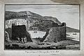 Island of Mull, Scotland; a volcanic cirque. Etching by G. R Wellcome V0025214.jpg
