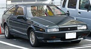 Isuzu Piazza - Image: Isuzu Piazza (1981 1992)