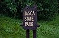 Itasca State Park - Entrance Sign - Minnesota (42635087785).jpg