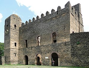Iyasu I -  Iyasu's Palace  in the  Fasil Ghebbi, Gondar