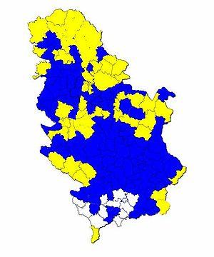 Serbian presidential election, 2008 - Image: Izbori 2008preds