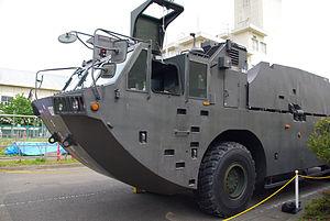 JGSDF Type94 Beach Minelayer Vehicle 20120520-01.JPG