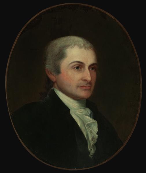 Copy of portrait of John Jay painted by Gilbert Stuart in 1828.  (Wikimedia Commons)