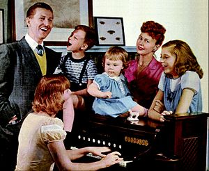 Jack Berch - Image: Jack Berch and family 1949