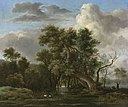 Jacob van Ruisdael - A Woodland Pool.jpg