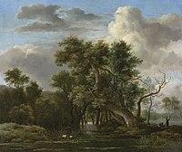 Jacob van Ruisdael - A Woodland Pool.jpg