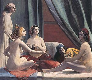 Jacqueline Marval - The Odalisques