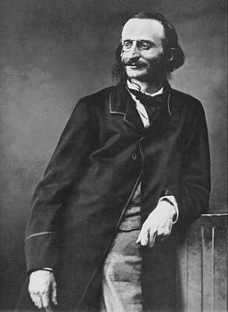 Jacques Offenbach by Félix Nadar (restored)