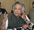 "Jairam Ramesh addressing after disclose ""Roadmap to Initiate Monitoring Network for Ambient Noise Monitoring Across the Country"", in New Delhi on January 14, 2010.jpg"