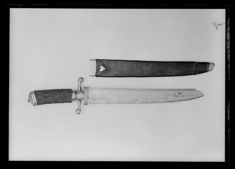 File:Jaktkniv, Frankrike , 1700-talets mitt - Livrustkammaren - 60417.tif
