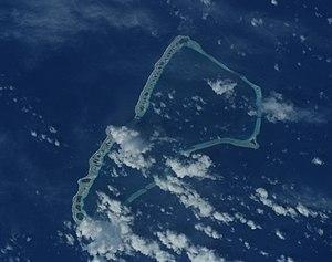 Jaluit Atoll - NASA image of Jaluit Atoll