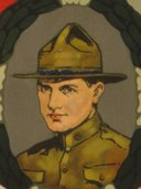 "James Bethel Gresham in 1917 art - ""The first three!"" Give till it hurts - they gave till they died LCCN00652854 (cropped).tif"