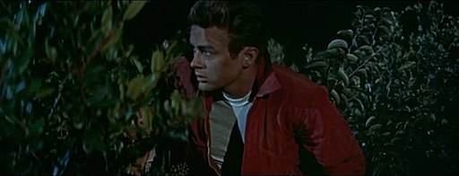 James Dean in Rebel Without a Cause trailer
