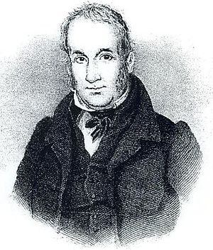 James Pierrepont Greaves - Engraved portrait of James Pierrepont Greaves
