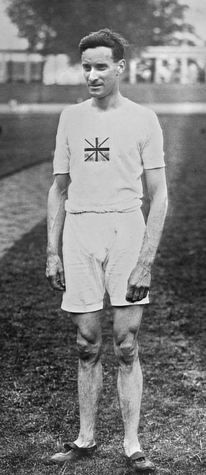 James Wilson (athlete) - James Wilson at the 1920 Olympics