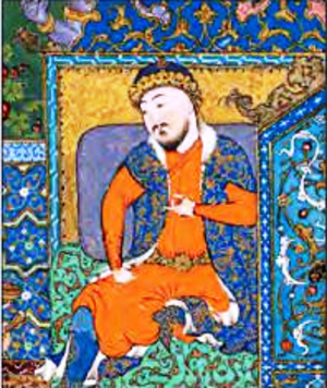 Jamshid - Jamshid in the Shahnameh of Shah Tahmasp