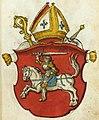 Jan z knižataŭ litoŭskich, Pahonia. Ян з княжатаў літоўскіх, Пагоня (1555).jpg