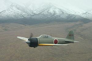 Mitsubishi A6M Zero - A6M2 Zero photo c. 2004
