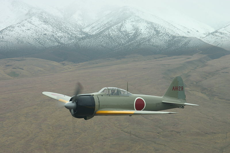 Japanese Zero Fighter