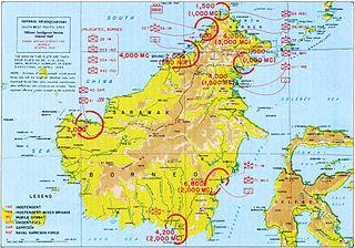 Borneo campaign (1945) order of battle