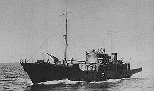 No.1-class auxiliary minelayer