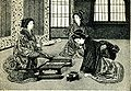 Japanese poetess and her listeners. Before 1902.jpg