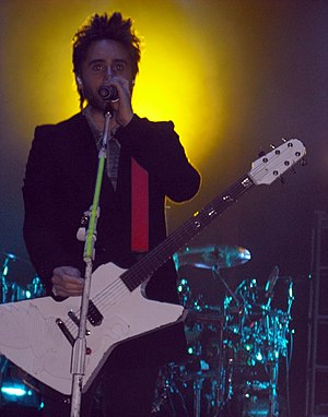 Revention Music Center - Jared Leto and his band, Thirty Seconds to Mars performed at the theater, December 2009