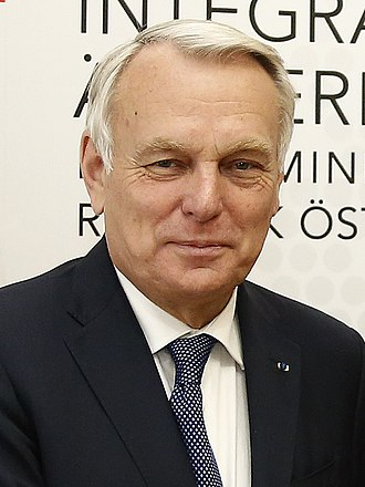 Jean-Marc Ayrault - Image: Jean Marc Ayrault Sebastian Kurz Vienna May 2016 (27089337295) (cropped)