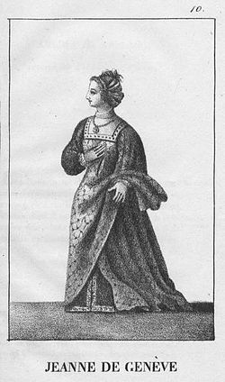 Image illustrative de l'article Jeanne de Genève