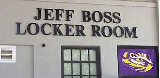 Tiger Stadium (LSU) - Jeff Boss Locker Room