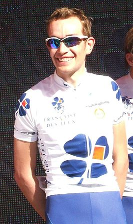 Tijdens de Tour Down Under 2009