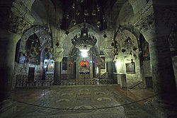 Jerusalem-Church of the Holy Sepulcher-The Chapel of St. Helen.jpg