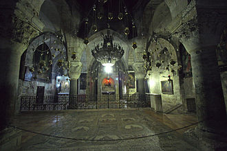 Chapel of Saint Helena Jerusalem-Church of the Holy Sepulcher-The Chapel of St. Helen.jpg