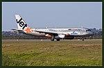 JetStar A320 leaving Coolangattaand (3904611947).jpg