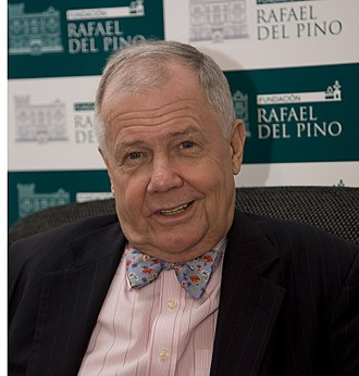 Jim Rogers - Rogers in Madrid during an interview in 2010