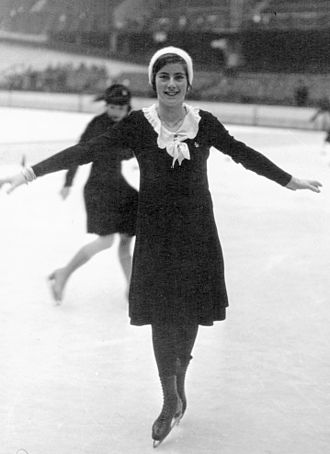 Joan Dix - Joan Dix at the 1932 European Championships