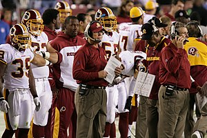 Joe Gibbs - Gibbs as head coach of the Redskins