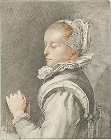 Иоганнес Кёрнлайн - портрет Марии Тессельшаде Вишер.jpg