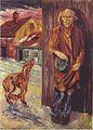 Johannessen - Bettler und Hund - 1920.jpeg