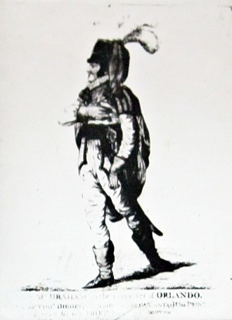 John Braham - John Braham, an etching by Robert Dighton
