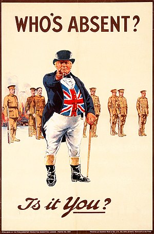 John Arbuthnot - John Bull in his World War I iteration.  Arbuthnot's character became an enduring symbol for the United Kingdom.