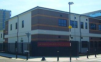 John Cass - Sir John Cass Red Coat School in Stepney, London