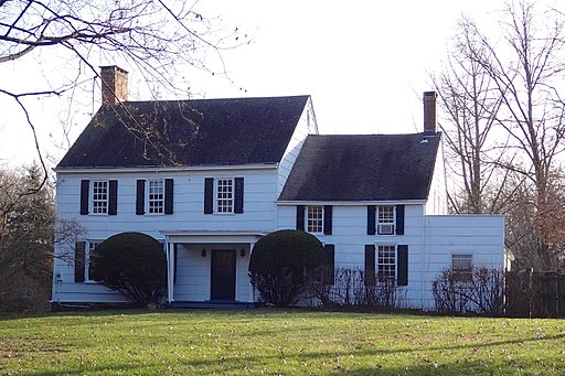 John Van Doren House, Millstone, NJ - north view